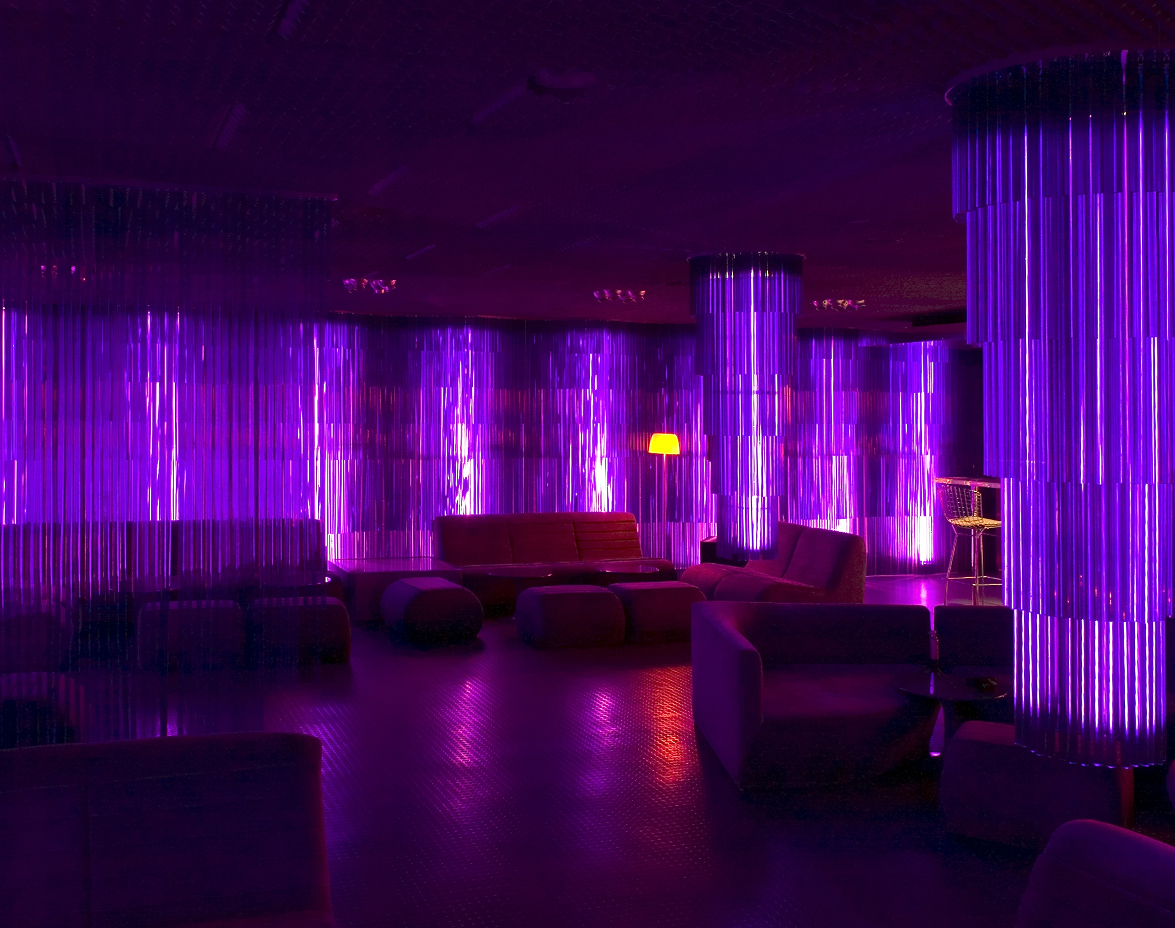 L Observatoire International The Purple Lounge At The
