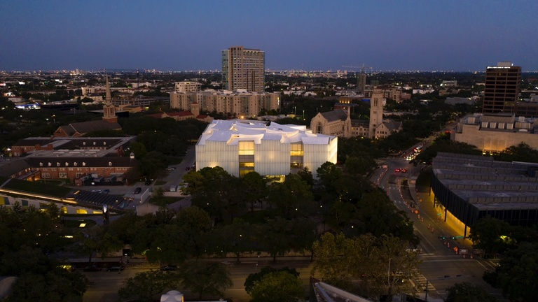 Nancy and Rich Kinder Museum Building - Museum of Fine Arts Houston