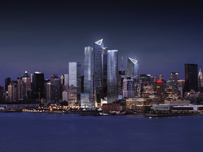 Hudson Yards Master Plan - Towers 10, 15, 30, 35 and 50