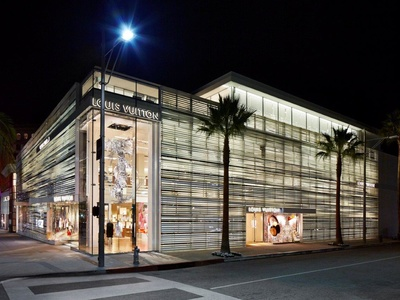 Louis Vuitton Beverly Hills Rodeo Drive