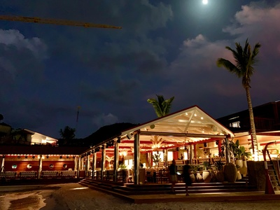 The Sand Bar Restaurant at the Eden Rock – St Barths
