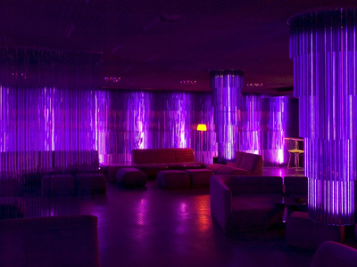 The Purple Lounge at the Standard Hollywood