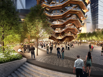 Hudson Yards Public Square and Gardens
